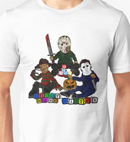 Baby Freddy, jason and Michael Unisex T-Shirt