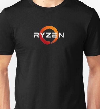 AMD Ryzen White Unisex T-Shirt