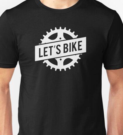 Let's Bike Motocross Sprocket  Unisex T-Shirt