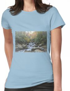 Autumn Tranquility Womens Fitted T-Shirt