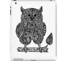 Ethnic abstract owl  iPad Case/Skin