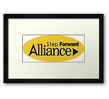 Alliance Party of Northern Ireland Logo Framed Print