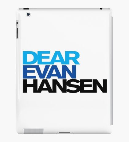 Dear Evan Hansen iPad Case/Skin