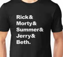 Rick and Morty - Beatles parody Unisex T-Shirt