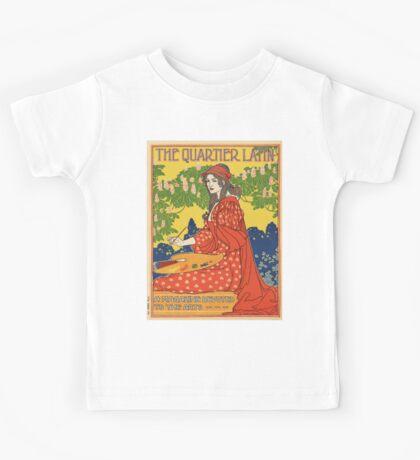 Vintage poster - The Quartier Latin Kids Tee
