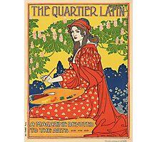 Vintage poster - The Quartier Latin Photographic Print