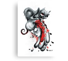 The Black Cat Canvas Print