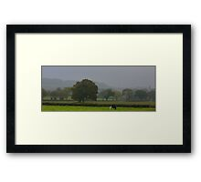 Being English  and Rural Framed Print