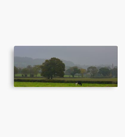 Being English  and Rural Canvas Print