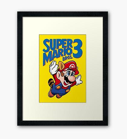 Super Mario Bros. 3 Framed Print