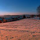 A winter wonderland sundown   landscape photography by Patrick Jobst