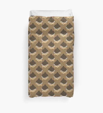 Turdle Pattern Duvet Cover
