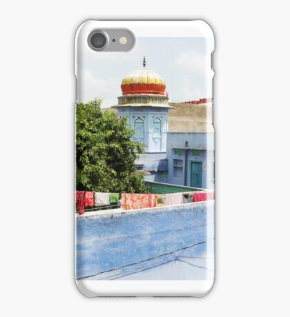 Washing line, India iPhone Case/Skin