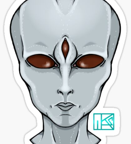 Human 3345 Sticker