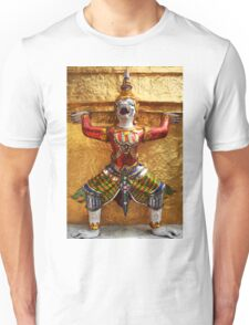 Guardian of Wat Pho in Bangkok, Thailand Unisex T-Shirt