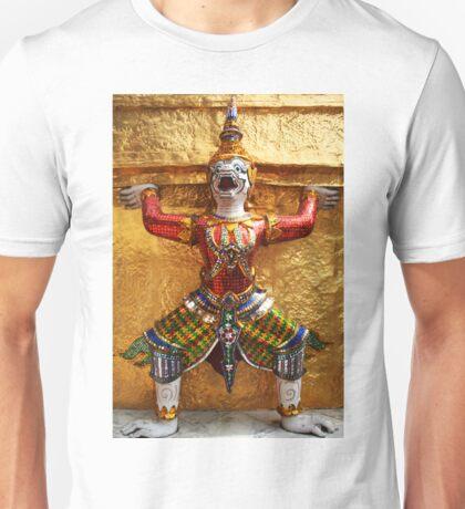 Guardian of Wat Pho in Bangkok, Thailand Unisex T-Shirt