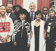 Obama x Hip Hop Sticker