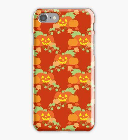 Cute Jack o' Lantern Pattern iPhone Case/Skin