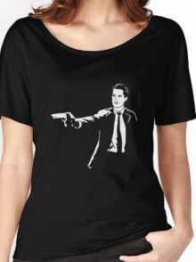 Twin Peaks Pulp Fiction Women's Relaxed Fit T-Shirt
