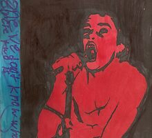 darby crash by Folsom-yard