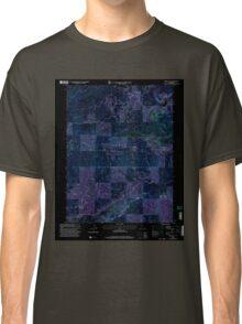 USGS TOPO Map California CA Sierra City 295198 2000 24000 geo Inverted Classic T-Shirt
