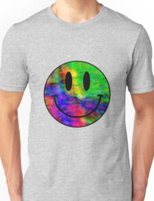 Smiley Face Trippy Unisex T-Shirt
