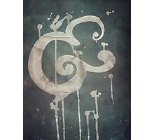 Ampersand in Blue : v.01 Photographic Print