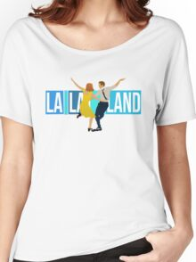 la la land Women's Relaxed Fit T-Shirt