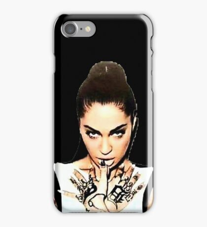 I Am... Porcelain Black iPhone Case/Skin