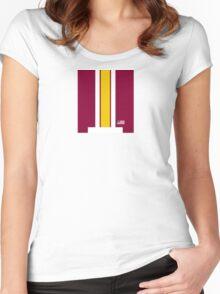 Skins Helmet Stripe Women's Fitted Scoop T-Shirt