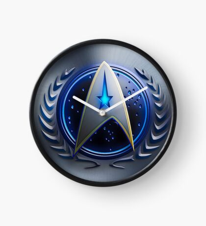 United Federation of Planets - Starfleet Command Clock