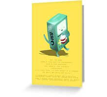 Oh BMO, how'd you get so pregnant? Greeting Card
