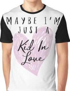 Shawn Mendes - Kid In Love Graphic T-Shirt