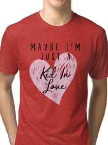 Shawn Mendes - Kid In Love Tri-blend T-Shirt