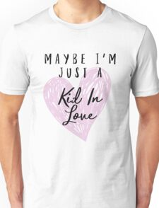 Shawn Mendes - Kid In Love Unisex T-Shirt