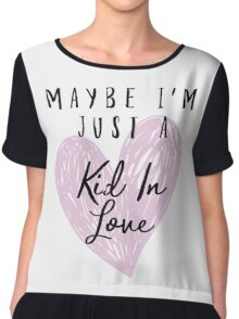 Shawn Mendes - Kid In Love Chiffon Top