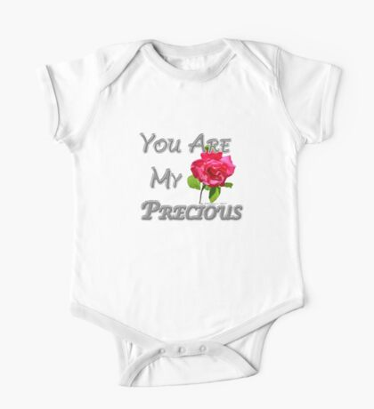 You Are My Precious One Piece - Short Sleeve
