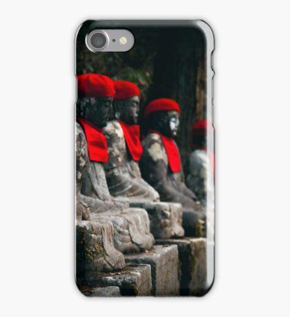 Nikko Jizo Statues iPhone Case/Skin
