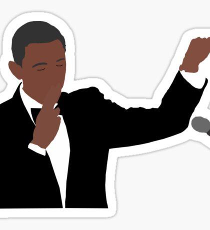 """Obama Out"" Sticker"