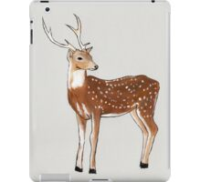 Nursery art - Deer that turns wishes iPad Case/Skin