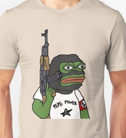 "RARE PEPE FROG ""PEPE POWER"" Unisex T-Shirt"