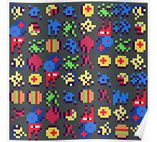 Pixel Mush Poster