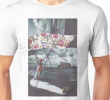 On Beach with String Unisex T-Shirt
