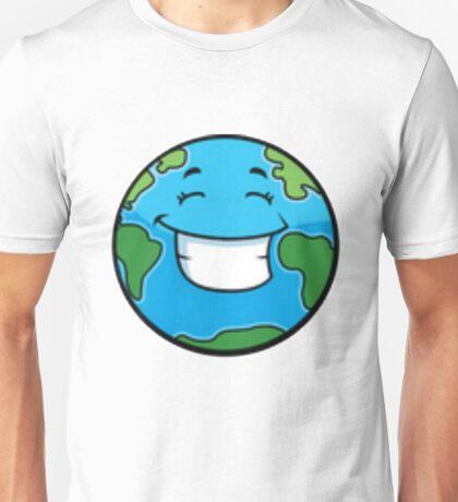 Smiling Planet Unisex T-Shirt