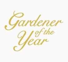 Gardener of the Year (Yellow) Kids Tee