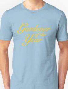Gardener of the Year (Yellow) Unisex T-Shirt