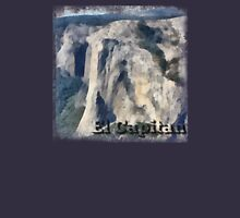 Rock Climbing Yosemite El Capitan Abstract Unisex T-Shirt