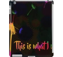 This is what I wish iPad Case/Skin