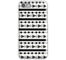 Black & White Aztec  iPhone Case/Skin