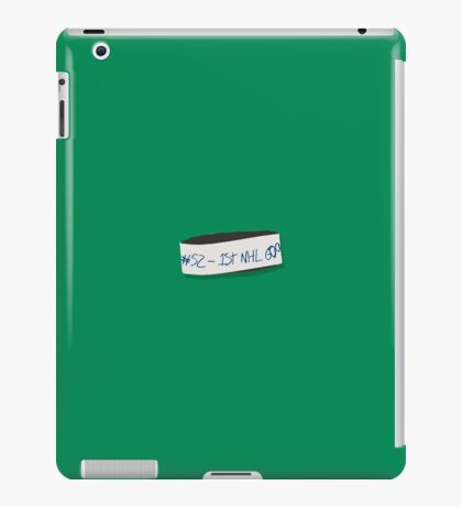 Troy Stecher - 1st NHL Goal iPad Case/Skin